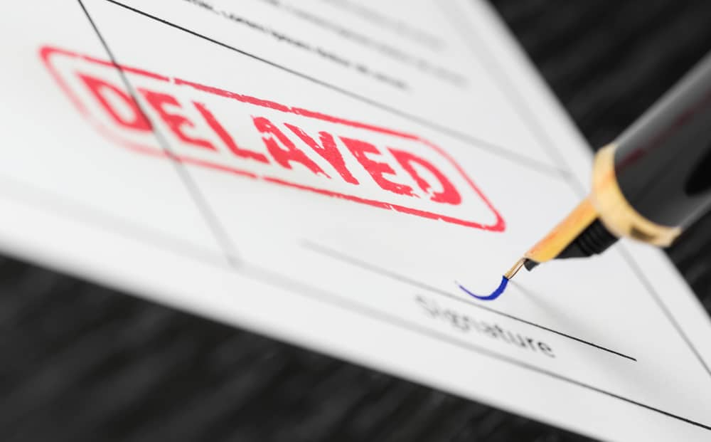 India Registration Postponed