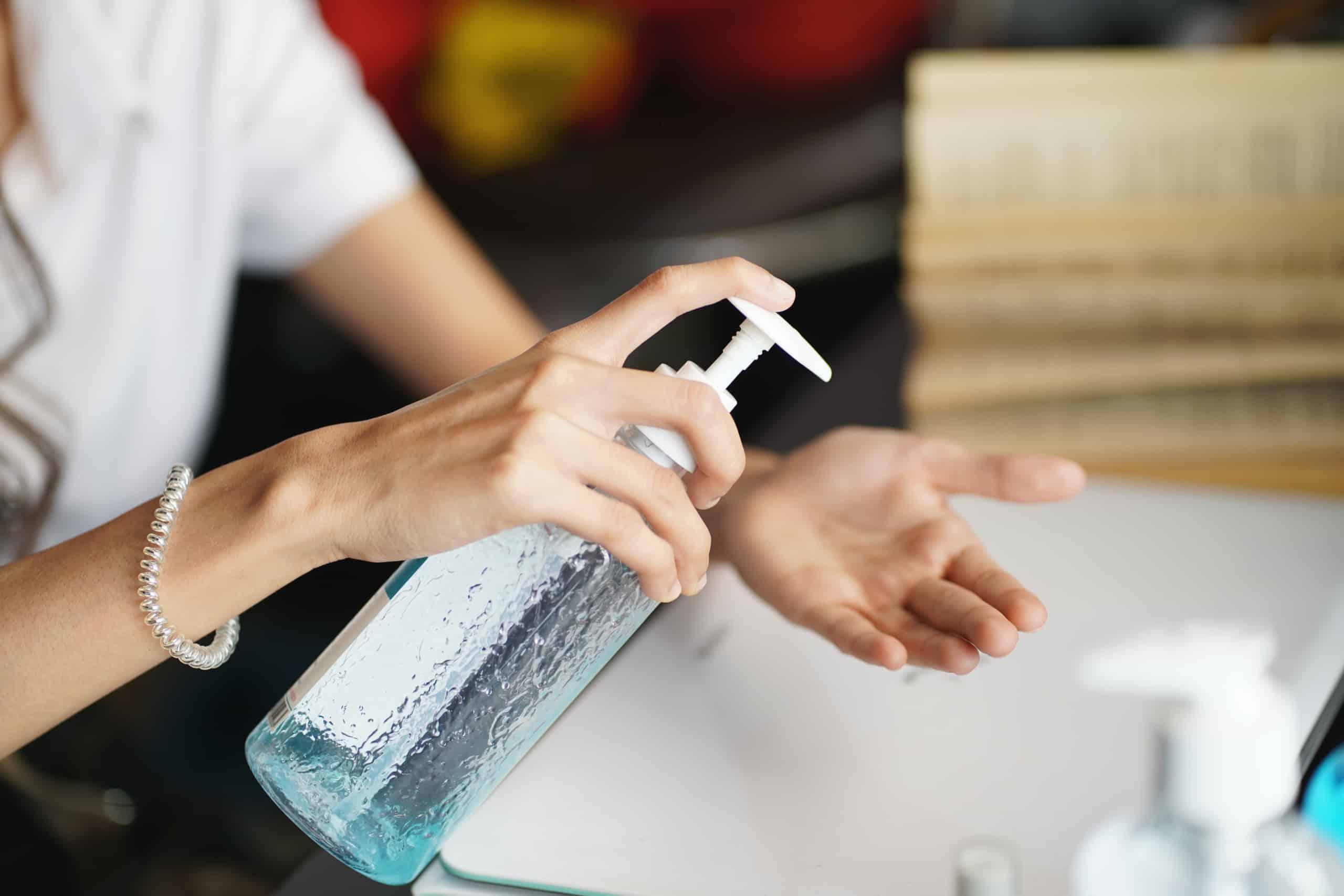 Hand sanitizer regulations