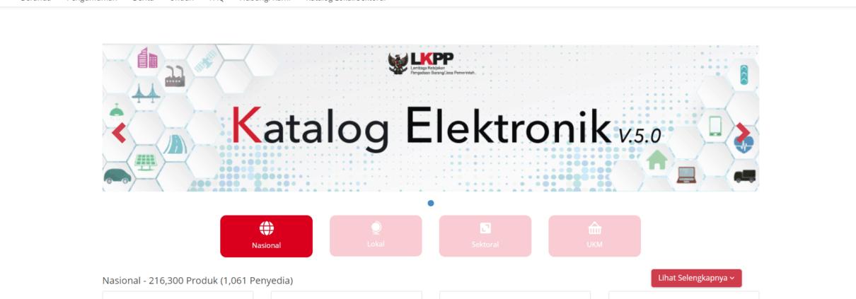 Indonesia e-Catalogue